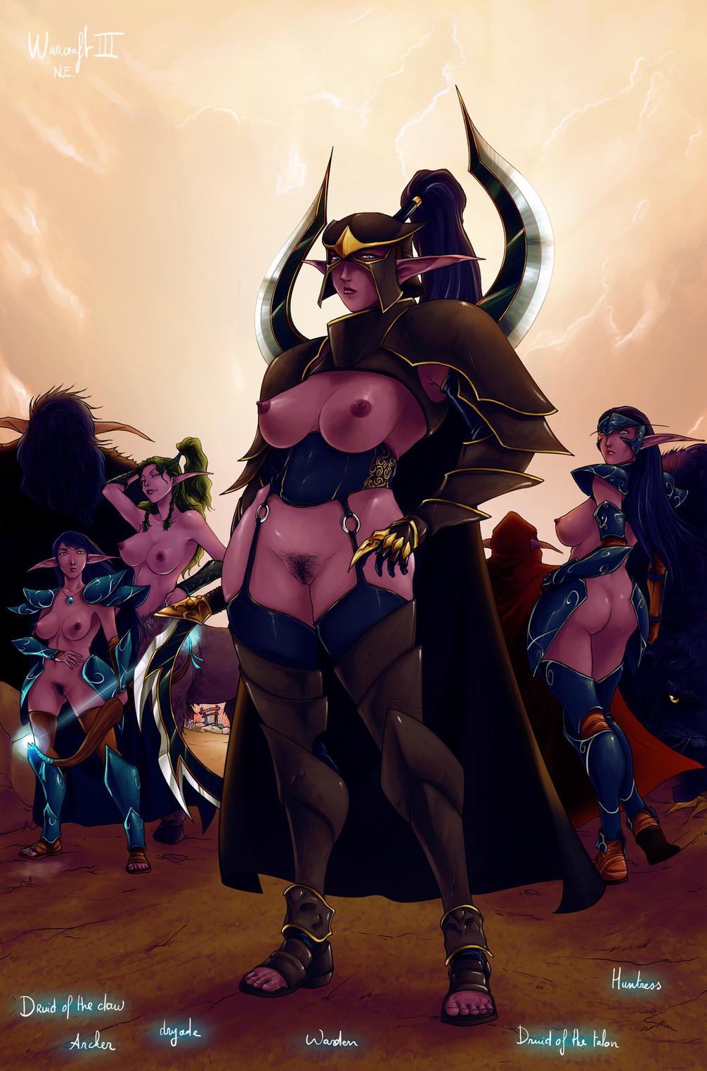 night knight death female elf Everyday life with monsters suu