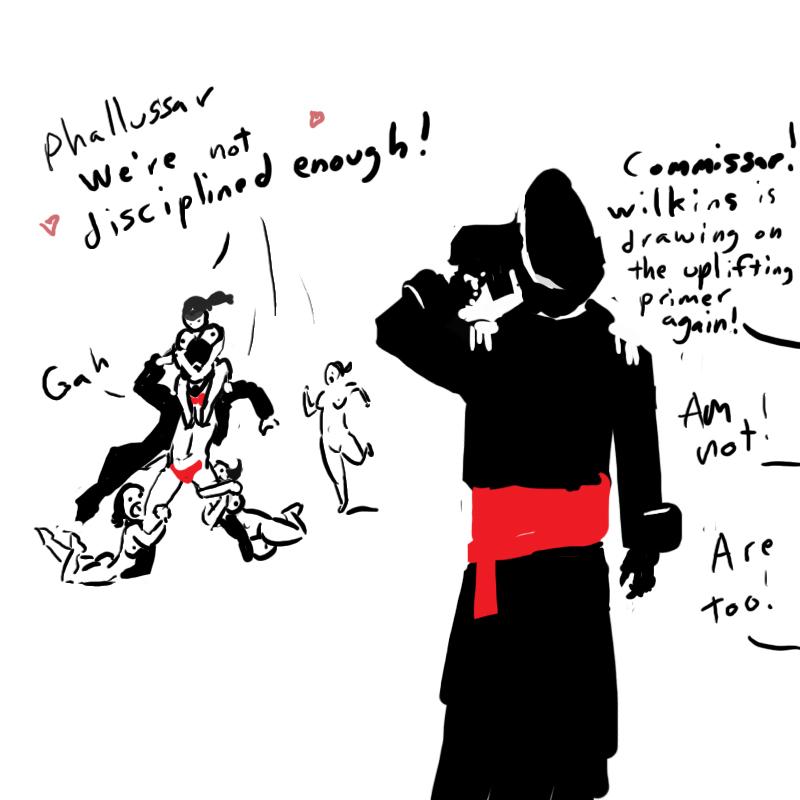 iron guard mordian 40k warhammer Steven universe jay-ten