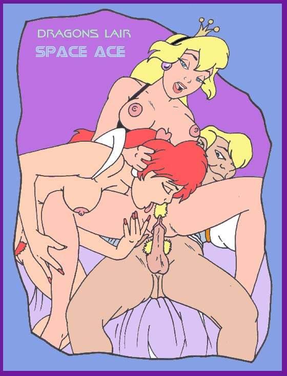 daphne porn dragon's lair princess Dragon ball z 18 naked