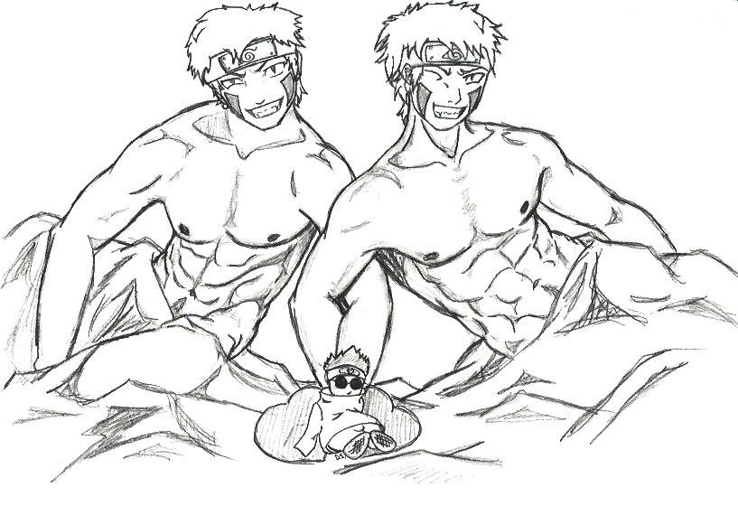 naruto kiba and sex gay My hero academia ochako fanart