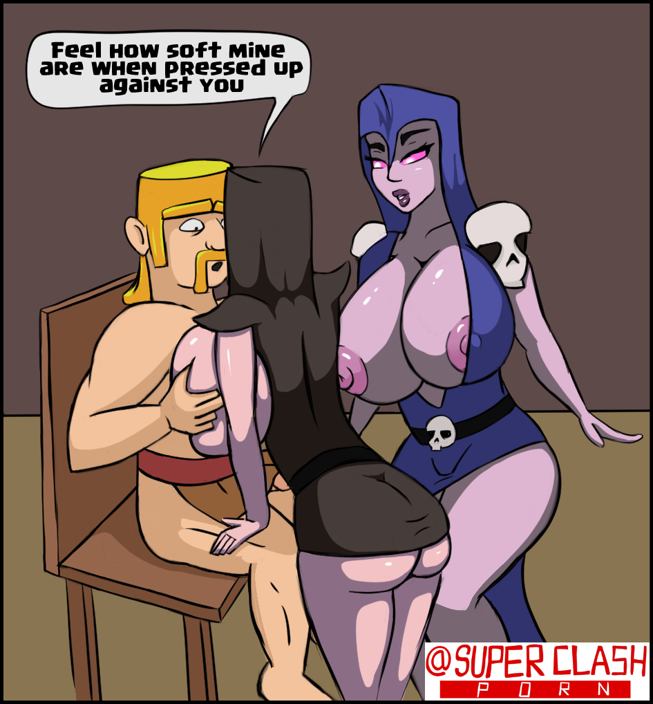 clash witch vs wizard royale How not to summon a demon lord porn comic