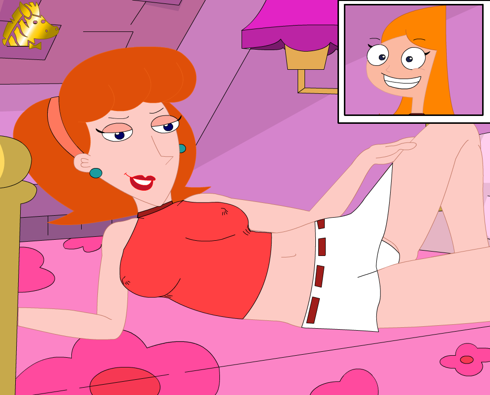 candace naked and phineas ferb Five nights at freddy's mangle