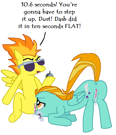 my lightning dust little pony Fem naruto is a mother fanfiction