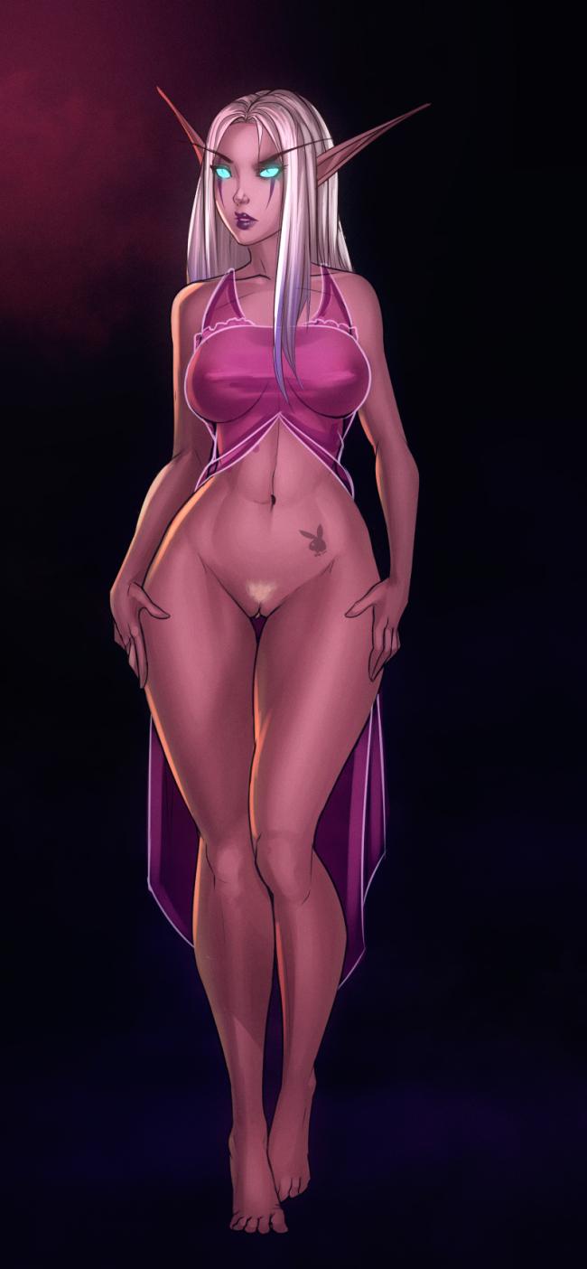 of world elf warcraft night nude Monster girl quest ova 3