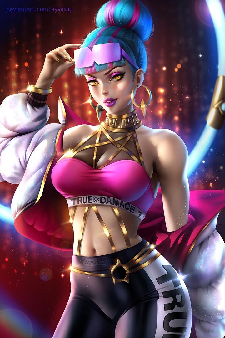 qiyana prestige edition true damage Fate grand order queen medb
