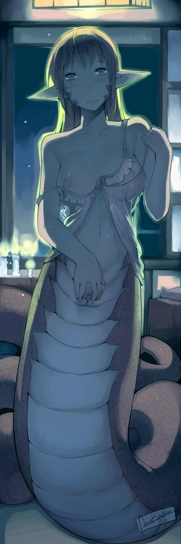 musume monster the life at pool everyday My hero academia deku x toga