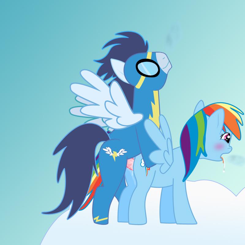 my dash little soarin rainbow and pony Unsweet netorare ochita onna tachi