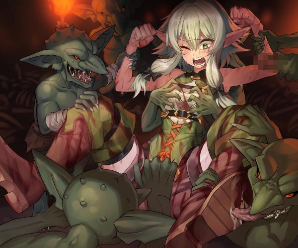rape slayer goblin scenes manga Bloods: inraku no ketsuzoku 2