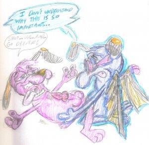 dog king ramses cowardly courage the My hero academia uraraka