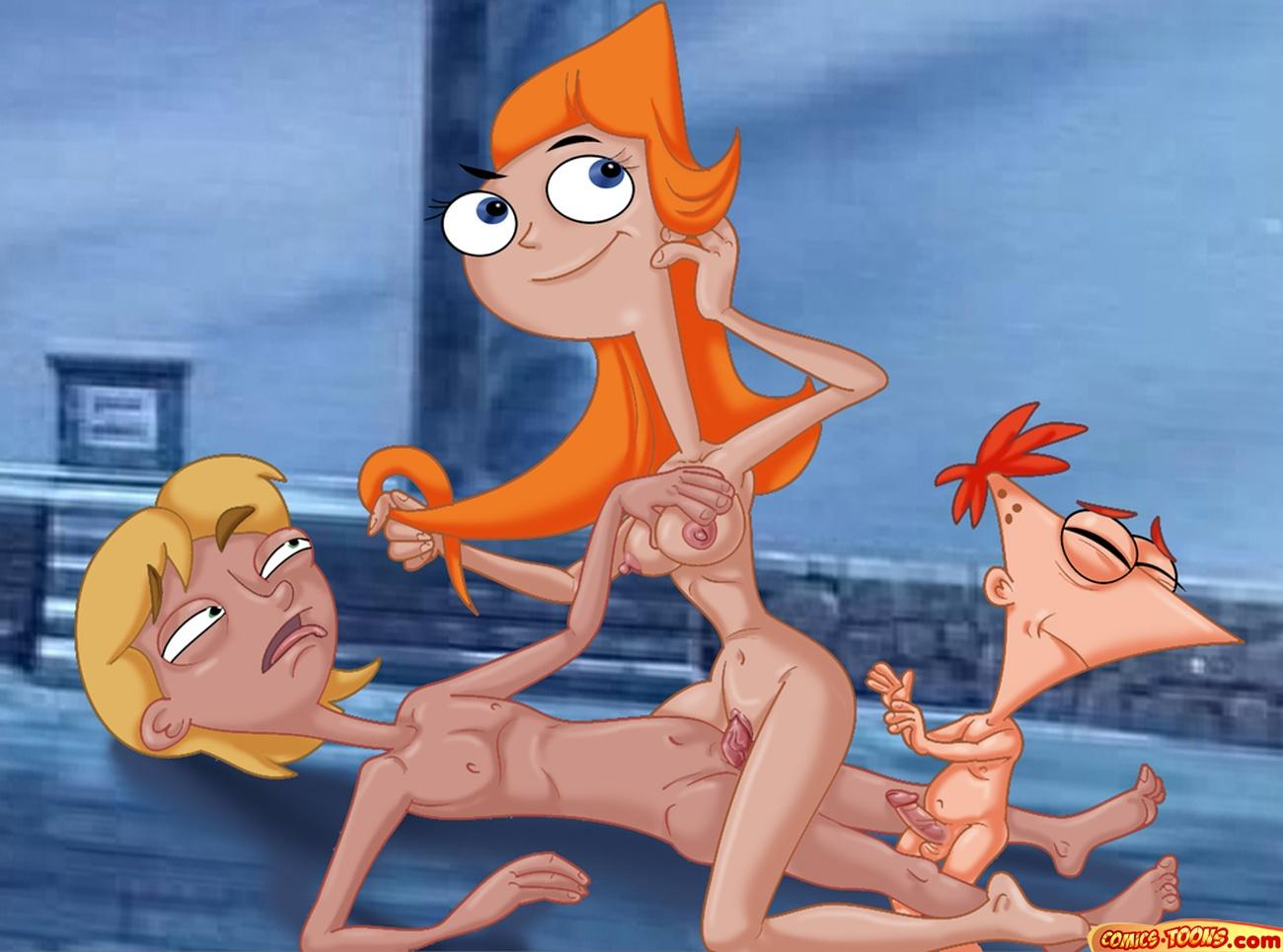 naked ferb candace phineas and Mary hai to gensou no grimgar