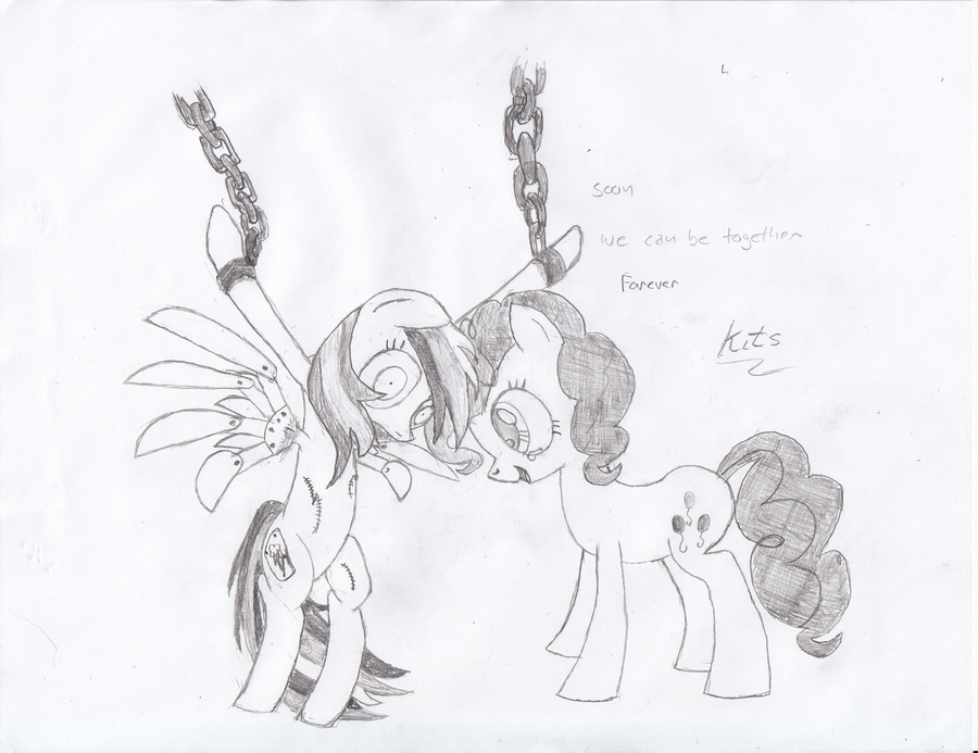 dash pinkie and pie mlp rainbow The witch god of war