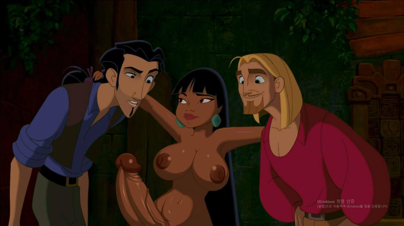to road the chel dorado el Dark magician girl breast expansion