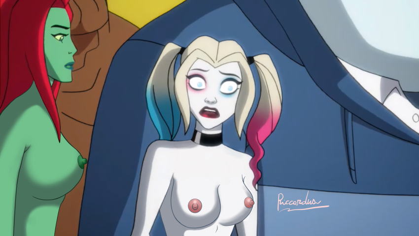 naked ivy harley quinn poison and Lilo and stitch porn gifs