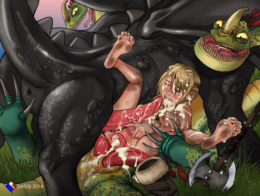 hiccup your astrid pregnant fanfiction how and dragon train to Goku and bulma fanfiction lemon
