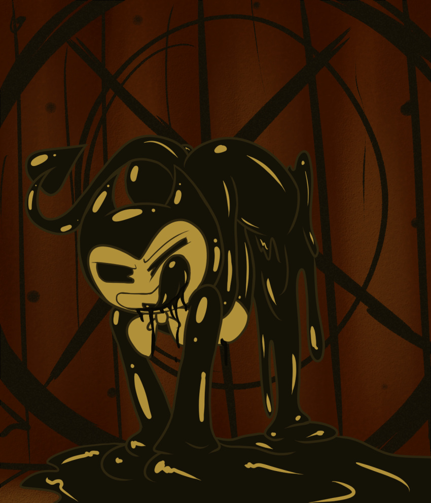 bendy the and ink boris machine wolf the Highschool dxd ophis and issei
