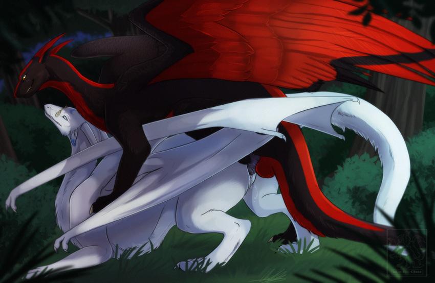 vi wings of Futa on male stomach bulge