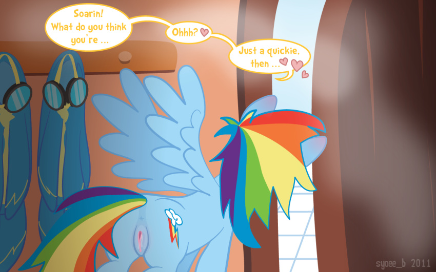 soarin rainbow and dash pony little my Seiso de majime na kanojo ga, saikyou yaricir ni kanyuu saretara?