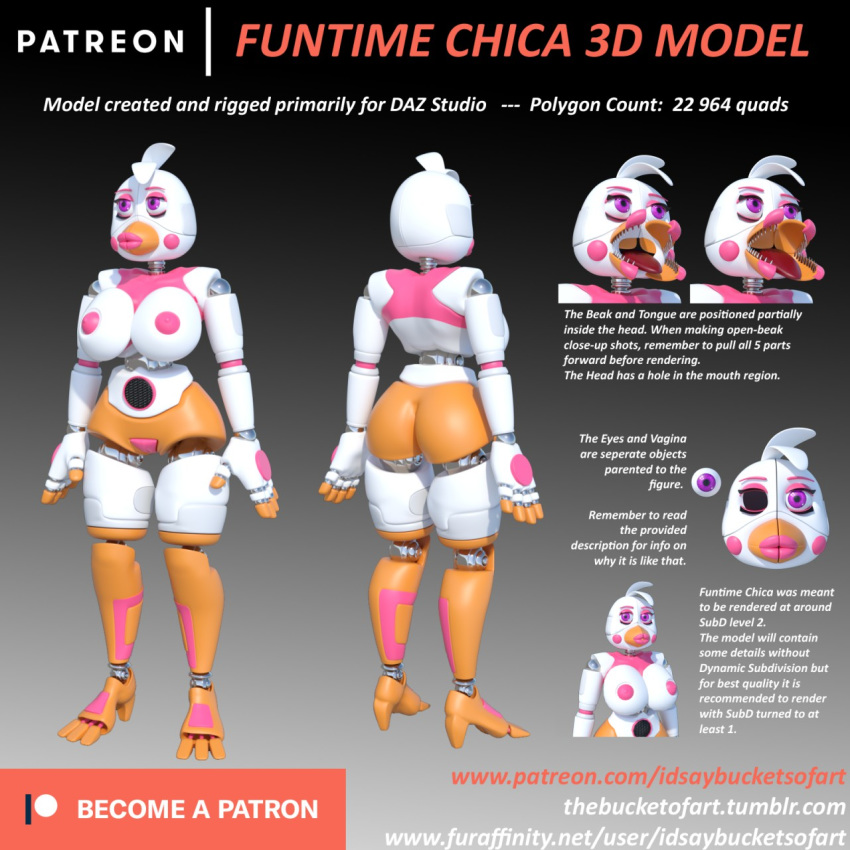 chica five freddy's funtime nights at Rise of the guardians sex