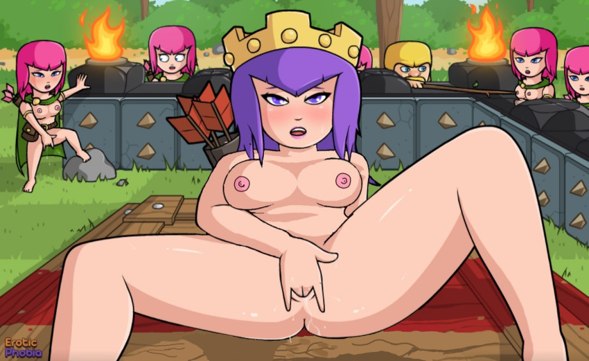 clash bowler the of clans Transformation comics male to female