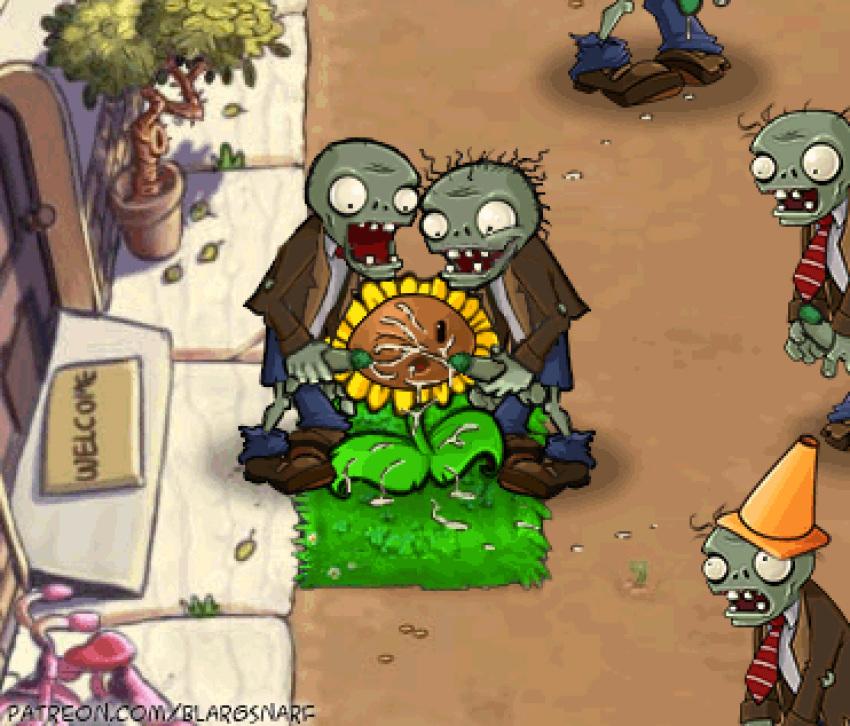 zombies vs dibujos 2 de plantas Bismuth (steven universe)
