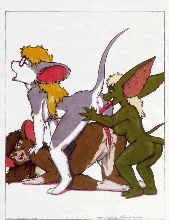 dousei love loca kouhai - x Tmnt the pig and the rhino