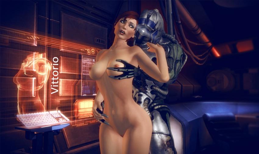 effect mass quarian or geth 3 Sym-bionic titan hentai