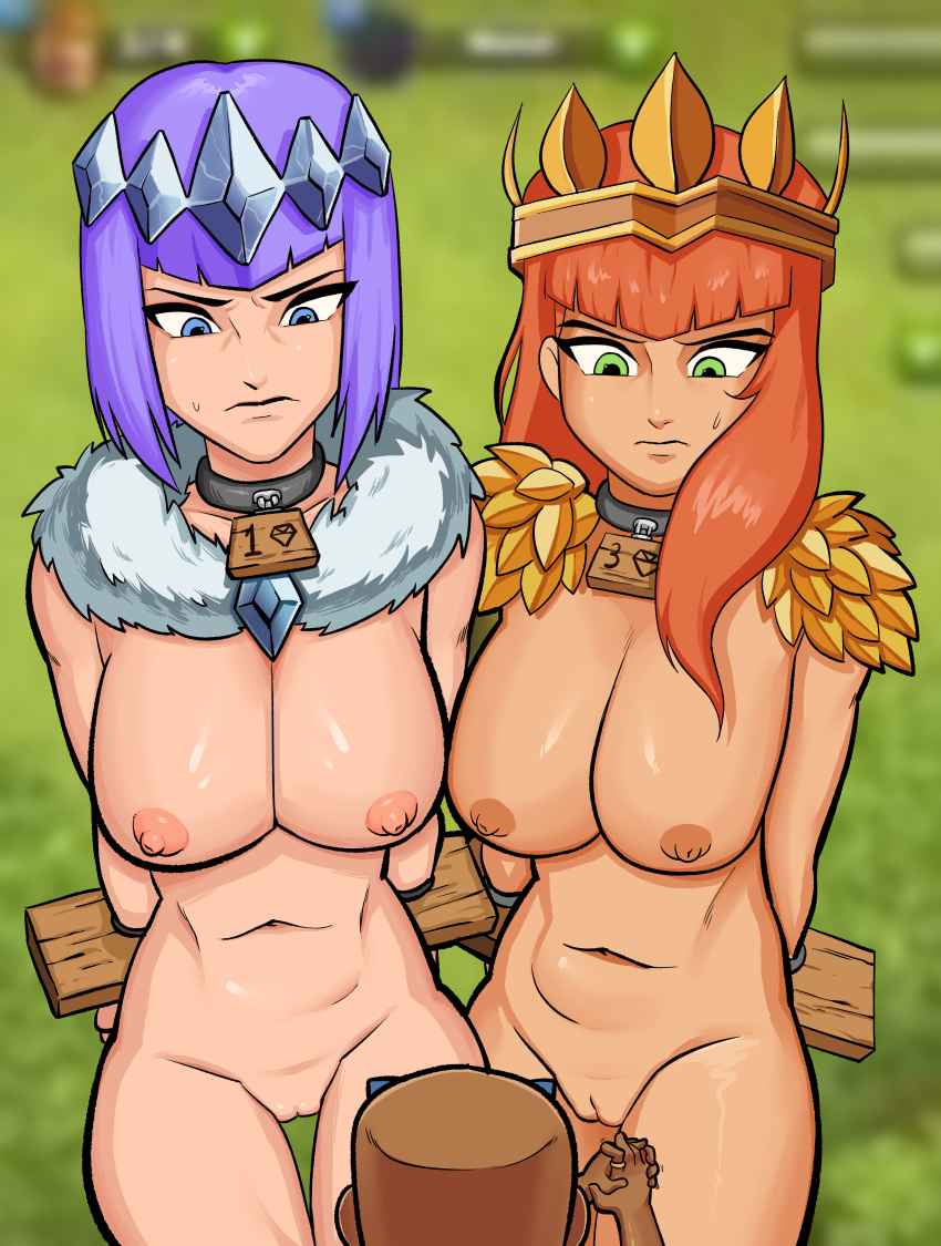 clash clans nude of archer You nappa you get slappa